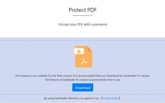 ماذا لو كنت لا أريد أن أري الآخرين ما لدي في PDF؟