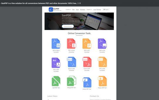 كيفية حفظ صفحة ويب كملف PDF