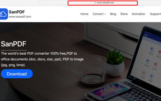 Comment convertir un pdf en Microsoft Office word (doc, docx) mac OS X 10.14 Mojave en ligne gratuitement?