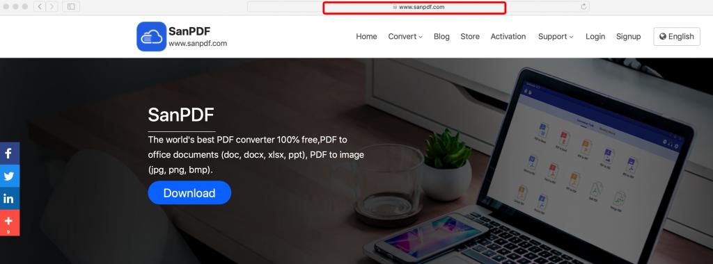 How convert pdf into Microsoft Office word(doc,docx) mac OS