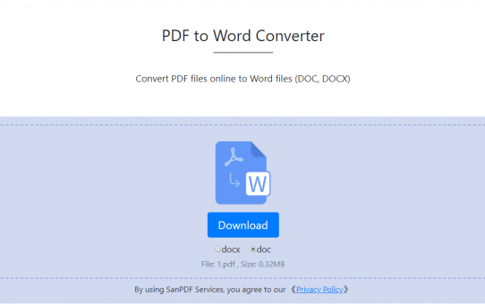 How to convert PDF to Word? Get it in one minute