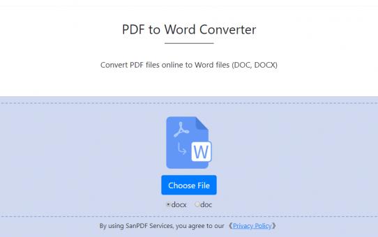 PDF to Word Converter-100% Free