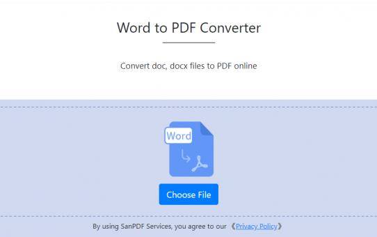 SanPDF Word to PDF — You deserve to know