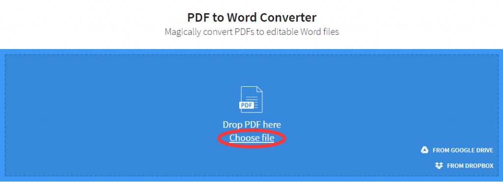 San PDF to Microsoft Office Word (.doc, .docx)