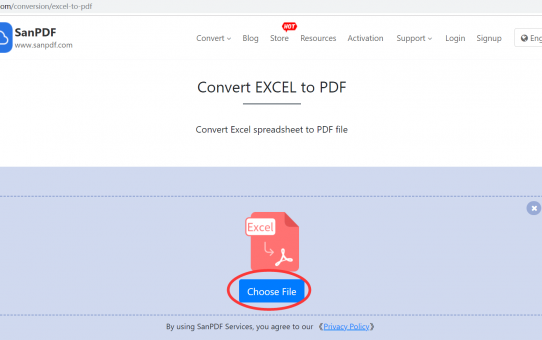 Convert Microsoft Office Excel (.xls, .xlsx) (.xls, .xlsx) to Adobe  PDF online to solve compatibility problems