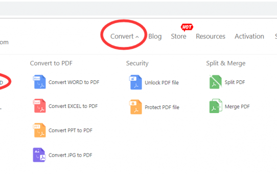 ADOBE PDF to  Microsoft Office Word (.doc, .docx) the easiest way