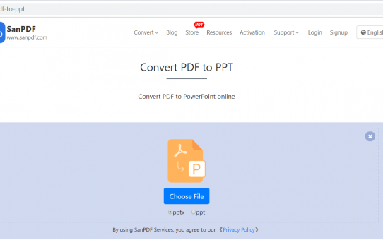 The commonly used ADOBE PDF to MICROSOFT OFFICE POWERPOINT (.PPT, .PPTX) method is actually very simple.