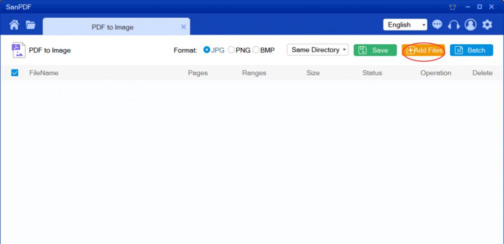 Adobe PDF to  jpg