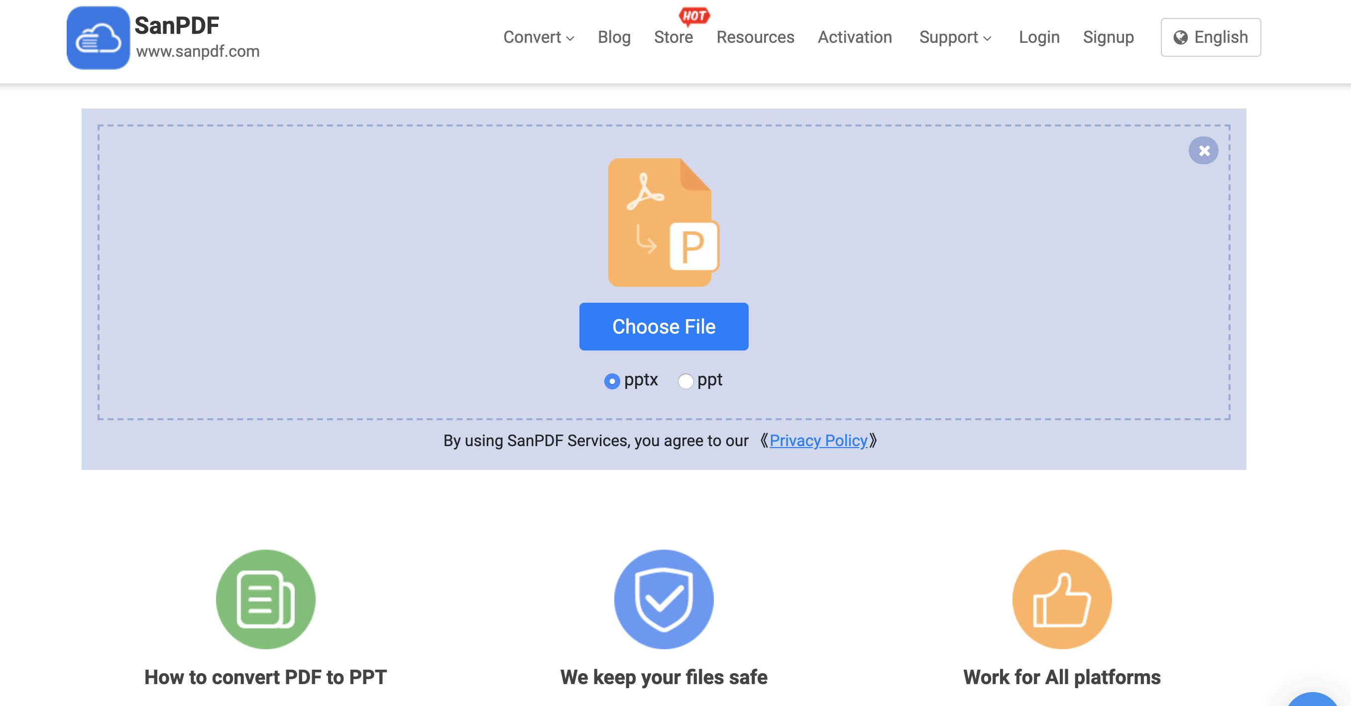 convert Adobe PDF to PPT free